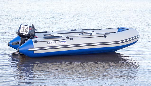 Конструкция ПВХ лодок Grouper.jpg