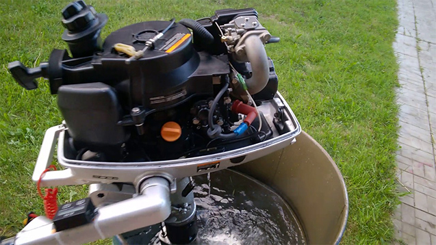 Лодочный мотор Sea Pro 5 л. с. - teh2.jpg