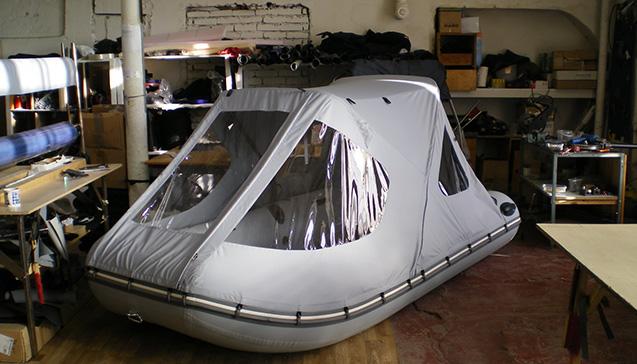 Тент для резиновой лодки.jpg